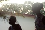 singles – youth enjoying their free early evening time in sos children's village conakry, guinea conakry