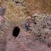 singles – outside on of the stone carved churches of lalibela, ethiopia
